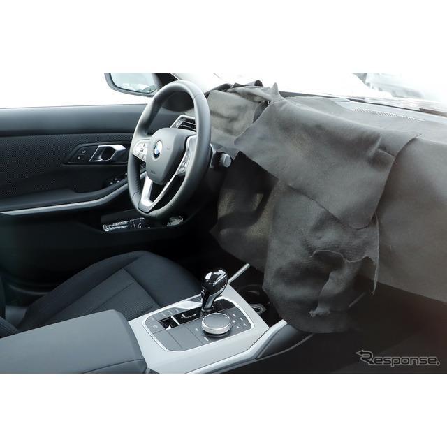 BMWの屋台骨を支える『3シリーズ』改良新型のプロトタイプを、スクープサイト「Spyder7」のカメラが初めて...