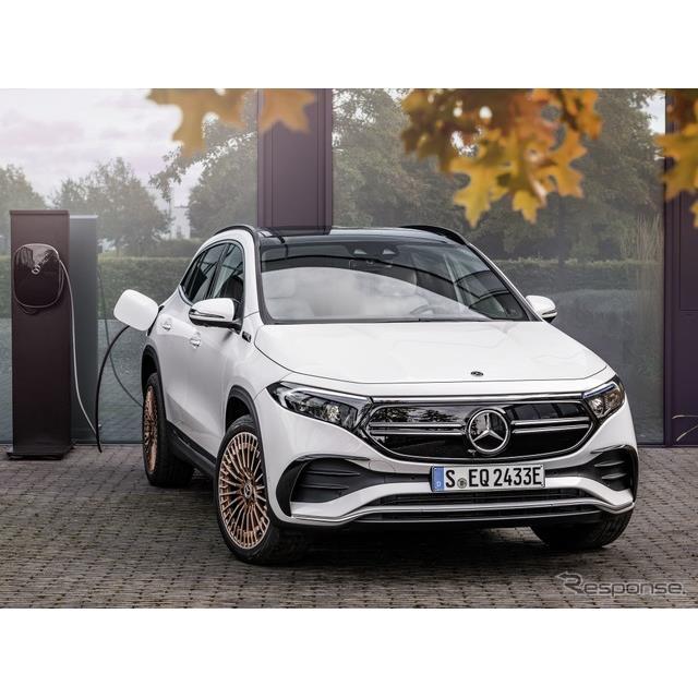 メルセデスベンツは4月7日、新型EVの『EQA』(Mercedes-Benz EQA)の世界受注台数がおよそ2万台に到達した...