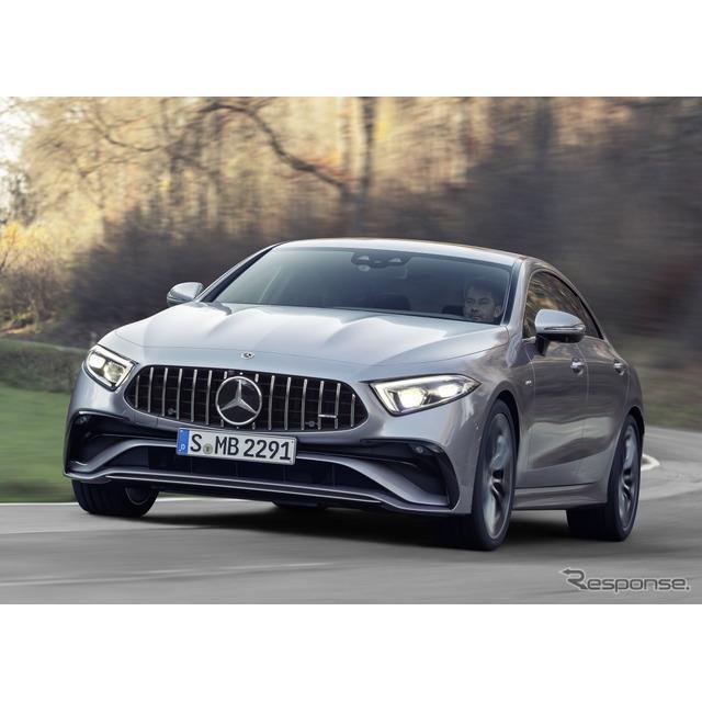 メルセデスベンツは4月7日、改良新型メルセデスAMG『CLS 53 4MATIC +』(Mercedes-AMG CLS 53 4MATIC +)を...
