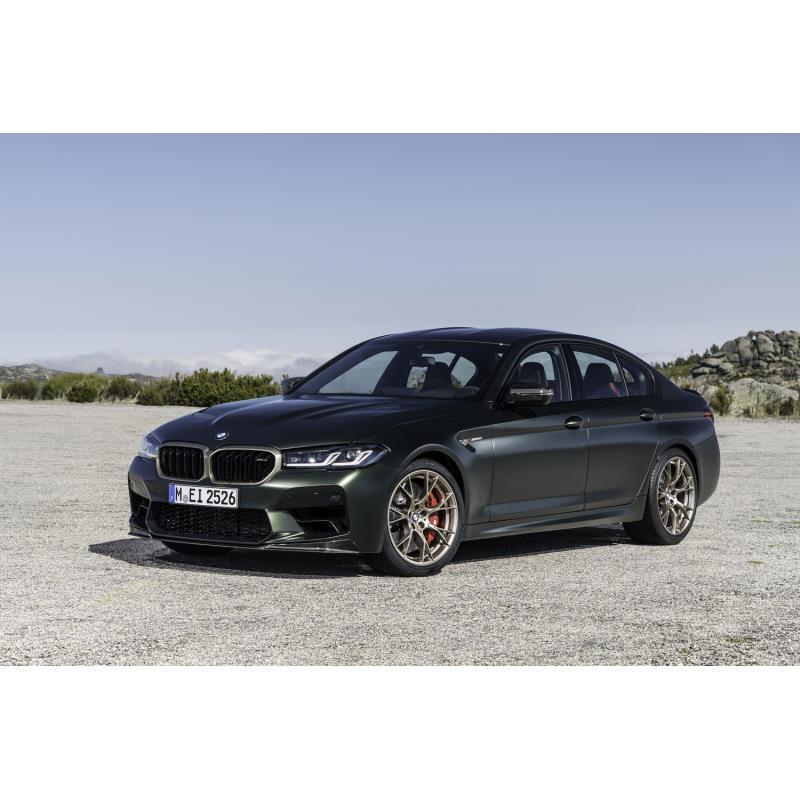 BMWジャパンは2021年4月9日、ハイパフォーマンスサルーン「BMW M5 CS」の国内導入を発表した。BMWオンライ...