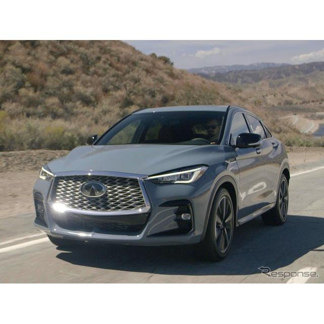 日産自動車の海外向け高級車ブランドのインフィニティは4月9日、新型SUVクーペの『QX55』(Infiniti QX55)...