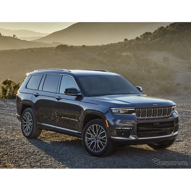ステランティス傘下のジープブランドは4月8日、新型『グランドチェロキーL』(Jeep Grand Cherokee L)を、...