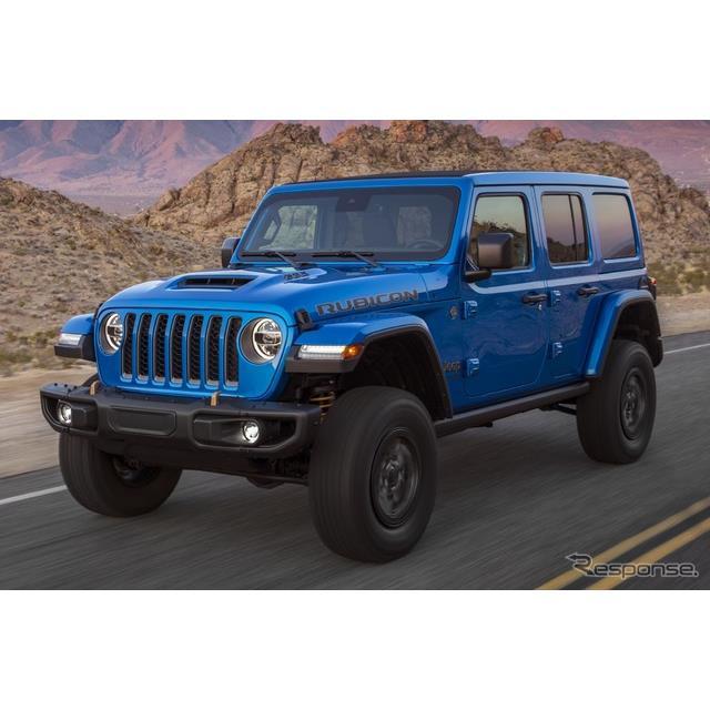 ステランティス傘下のジープブランドは4月8日、『ラングラー・ルビコン392』(Jeep Wrangler Rubicon 392)...