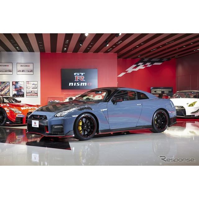 日産自動車は4月14日、『日産GT-Rニスモ』および『日産GT-Rニスモ スペシャルエディション』の2022年モデル...