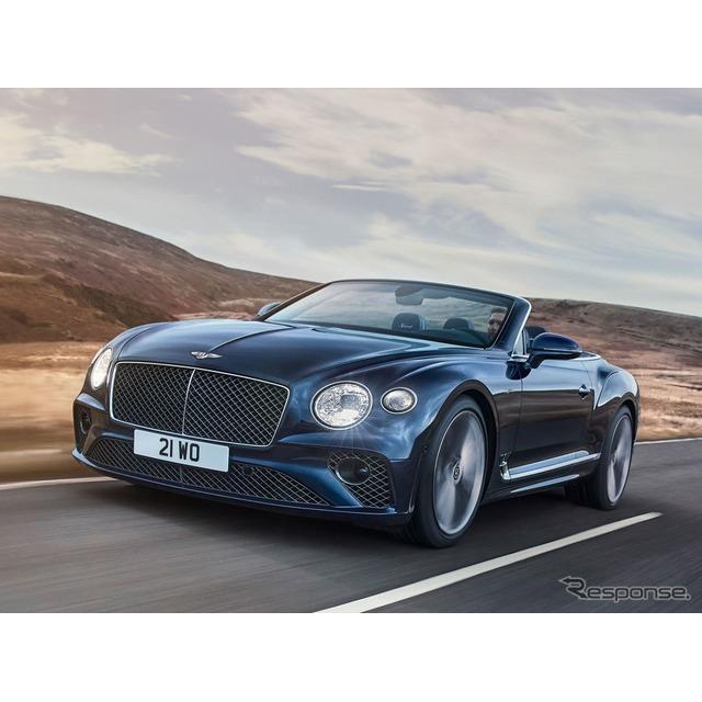 ベントレーは4月13日、新型『コンチネンタルGTスピードコンバーチブル』(Bentley Continental GT Speed Co...