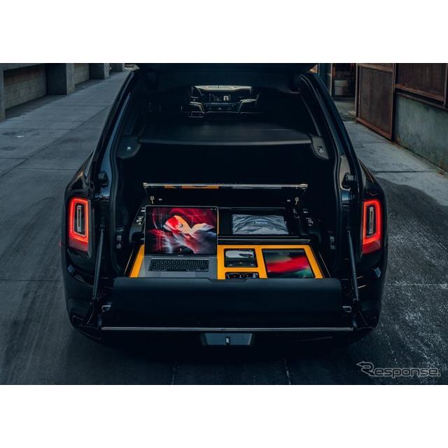 ロールスロイスモーターカーズは4月12日、SUVの『カリナン』(Rolls-Royce Cullinan)向けに、新しいカスタ...
