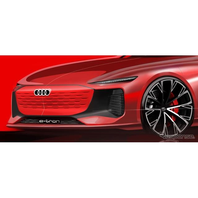 アウディ(Audi)は4月15日、中国で4月19日に開幕する上海モーターショー2021で新型車をワールドプレミアす...