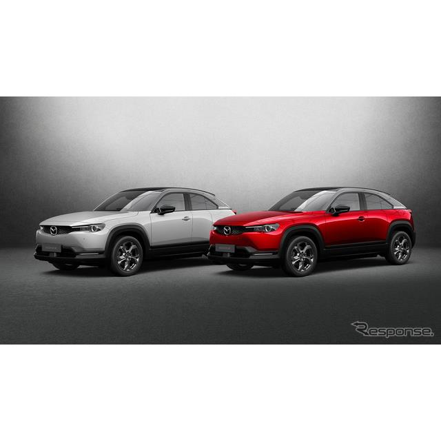 マツダの米国部門の北米マツダは4月15日、新型EVの『MX-30』(Mazda MX-30)を今秋、米国カリフォルニア州...