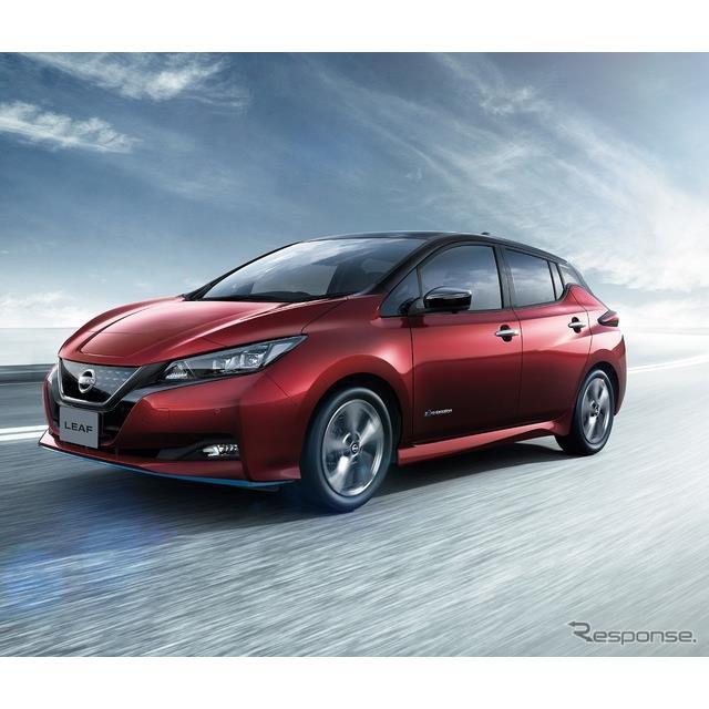 日産自動車は4月19日、電気自動車『リーフ』を一部仕様向上するとともに、新グレード「アーバンクロム」を...