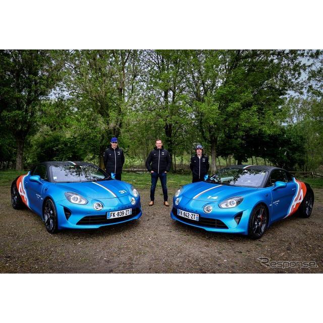 アルピーヌは4月16日、『A110』(Alpine A110)の「トラックサイドカー」を発表した。アルピーヌのF1ドライ...