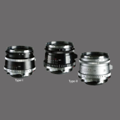 「ULTRON Vintage Line 28mm F2 Aspherical Type I VM」および「ULTRON Vintage Line 28mm F2 Aspherical Type II VM」