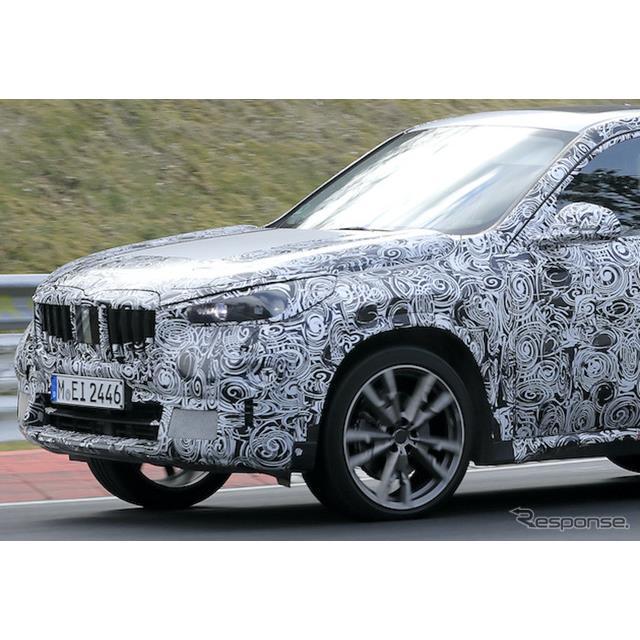 BMWのコンパクトクロスオーバーSUV『X1』次期型プロトタイプが、ニュルブルクリンクで初の高速テストを開始...