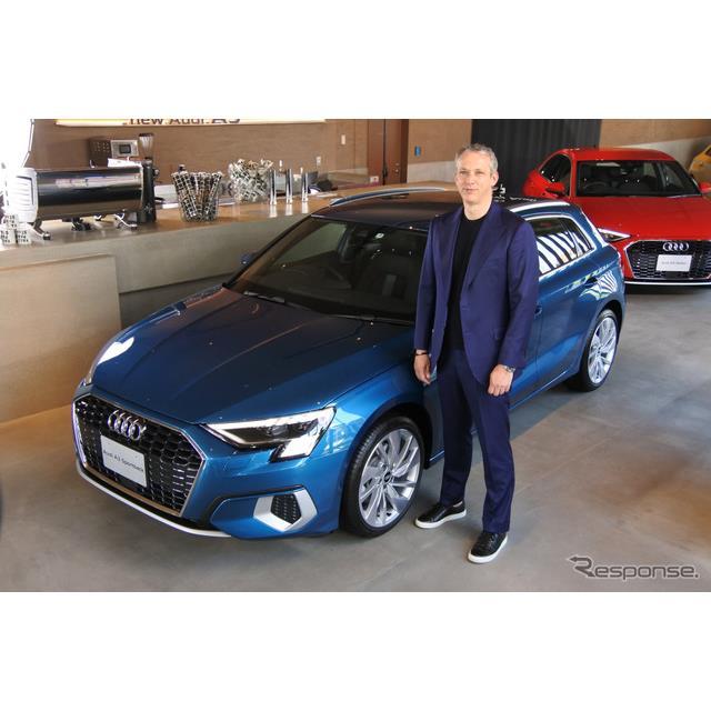 アウディジャパンは4月21日、全面改良したコンパクトモデル『A3』シリーズの受注を開始した。発売は5月18日...
