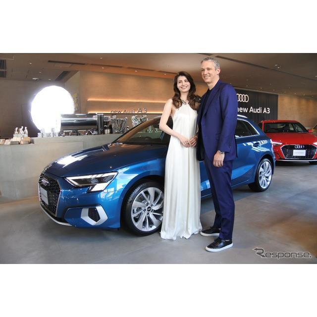 アウディジャパンのフィリップ・ノアック社長は4月21日から受注を開始した新型『A3』シリーズについて「ア...