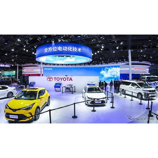 トヨタ自動車と第一汽車の中国合弁、一汽トヨタは4月19日、中国で開幕した上海モーターショー2021において...