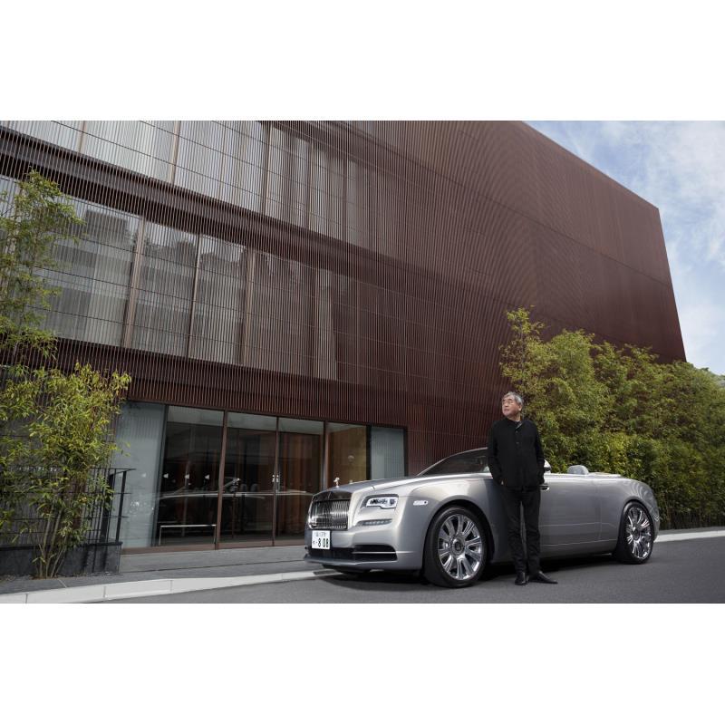 英ロールス・ロイス・モーター・カーズは2021年4月22日(現地時間)、建築家・隈 研吾氏とコラボした2ドア...