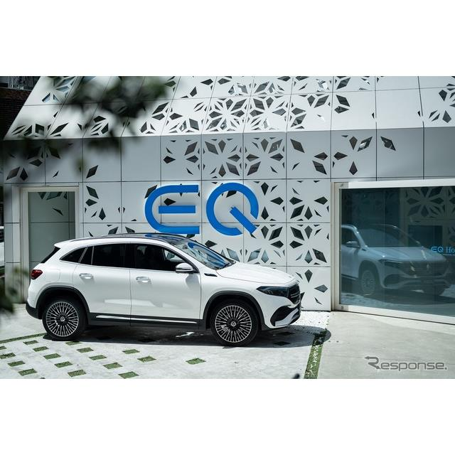 メルセデス・ベンツ日本は、『EQC』に続く電気自動車(EV)第2弾『EQA』を発表、4月26日より販売を開始した...