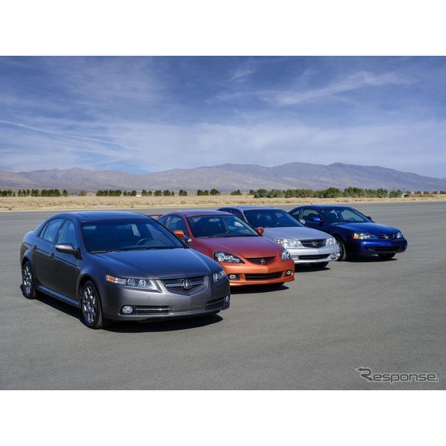 ホンダの海外向け高級車ブランドのアキュラ(Acura)は4月21日、高性能グレード「タイプS」の歴史を振り返...