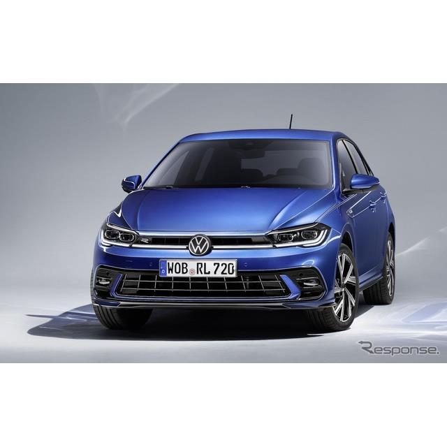 フォルクスワーゲンは4月22日、改良新型『ポロ』(Volkswagen Polo)に「Rライン」を欧州で設定し、5月に先...