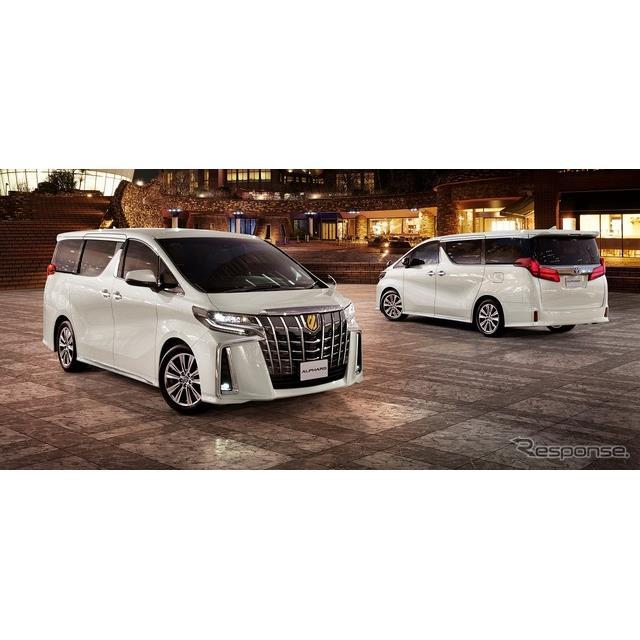 トヨタ自動車は、高級ミニバン『アルファード』および『ヴェルファイア』を一部改良するとともに、アルファ...
