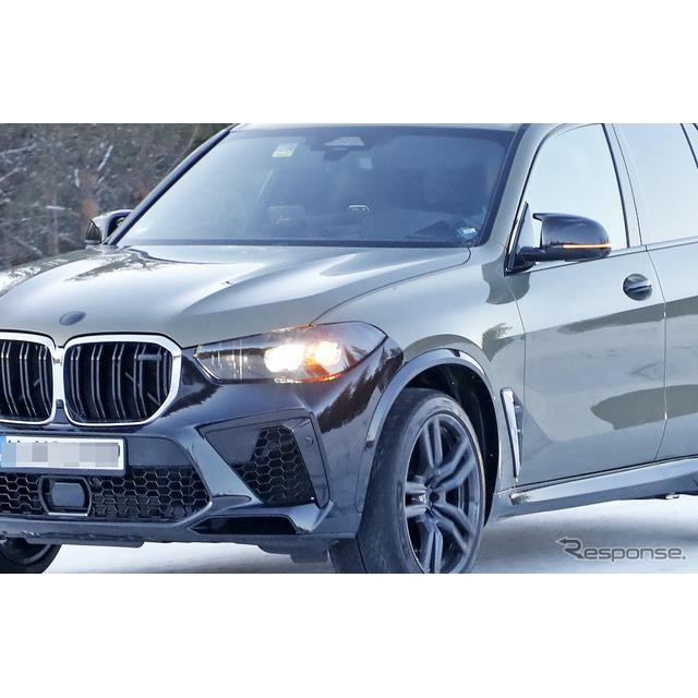 BMWのミドルサイズSUV『X5』改良新型に用意されるMモデル『X5M』のプロトタイプを、スクープサイト「Spyder...