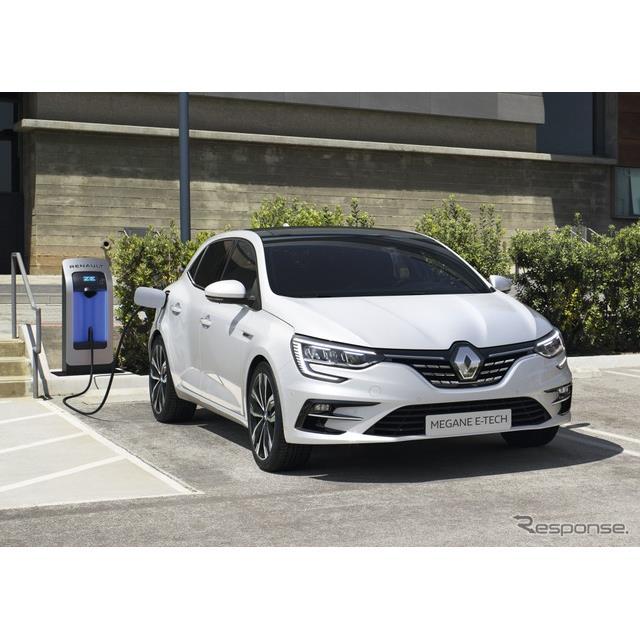 ルノーは5月5日、改良新型『メガーヌ』(Renault Megane)ハッチバックのプラグインハイブリッド車(PHV)...