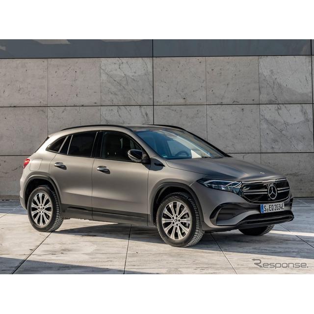 メルセデスベンツは5月5日、新型EVの『EQA』(Mercedes-Benz EQA)に、2つの新グレードを欧州で設定すると...