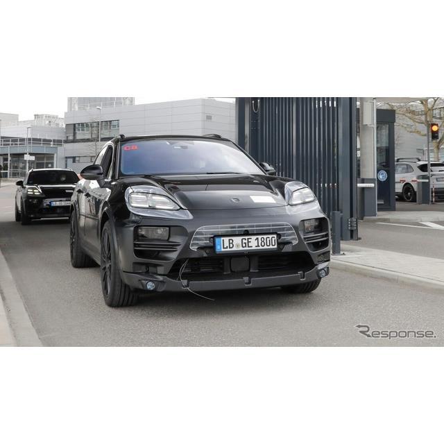ポルシェは5月10日、フルEVとなる次期『マカン』(Porsche Macan)のプロトタイプの写真を公開した。  次...