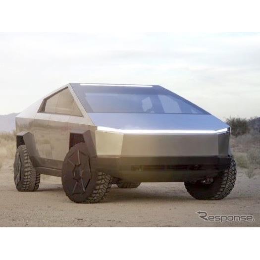 テスラ(Tesla)は5月9日、同社初のEVピックアップトラックの『サイバートラック』(Tesla Cybertruck)が...