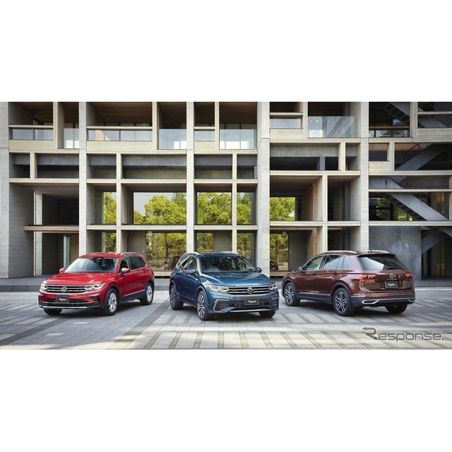 フォルクスワーゲングループジャパン(VGJ)は、主力SUV『ティグアン』を4年ぶりにマイナーチェンジし、5月...