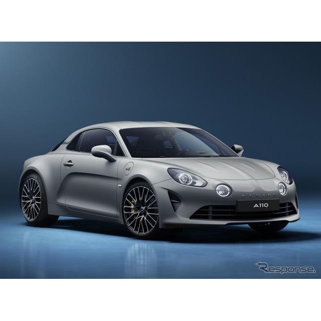 アルピーヌ(Alpine)は5月12日、『A110リネージGT 2021』を発表した。欧州市場で300台が限定発売される予...