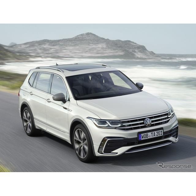 フォルクスワーゲンは5月12日、改良新型『ティグアンオールスペース』(Volkswagen Tiguan Allspace)を欧...
