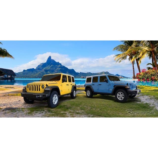 FCAジャパンは、ジープ『ラングラー アンリミテッド』(Jeep Wrangler Unlimited)に、ビーチが似合う個性...