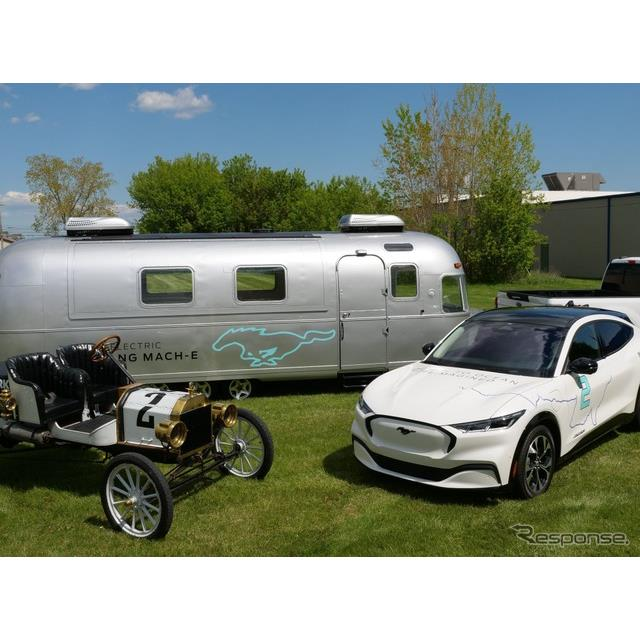 フォードモーターは5月17日、フォード『マスタング』シリーズのEV、『マスタング・マッハE』(Ford Mustang...