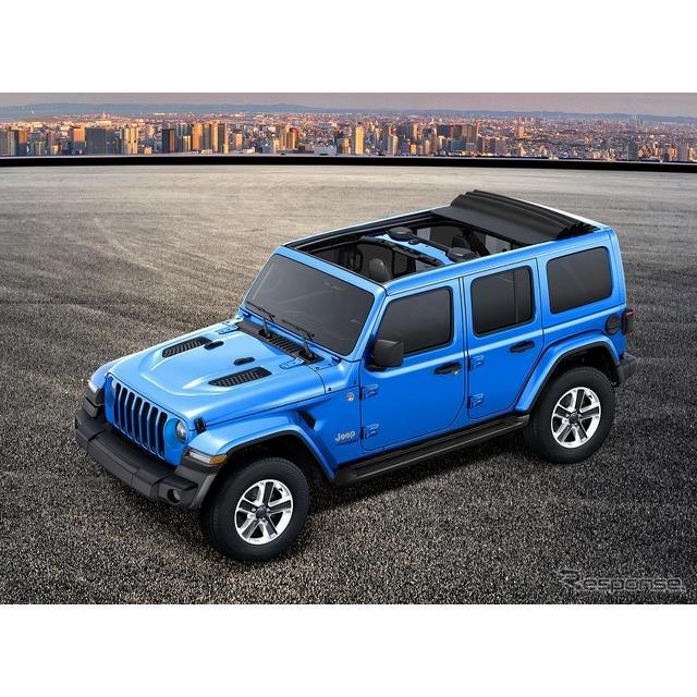 FCAジャパンは、ジープ『ラングラー アンリミテッド』に、電動開閉式パワートップを備えた限定車「サハラ ...
