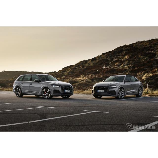 アウディ(Audi)は5月20日、SUVの『Q7』と『Q8』の2022年モデルを欧州で発表した。  アウディの大型SUV...