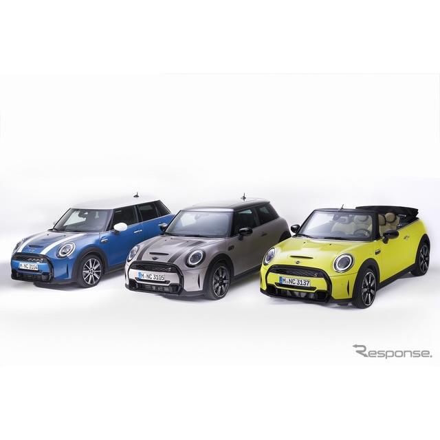 ビー・エム・ダブリュー(BMWジャパン)は、内外装のデザインを一新した改良新型MINI『3ドア』『5ドア』『...