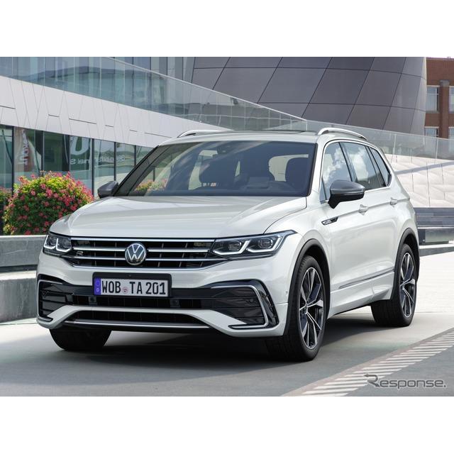 フォルクスワーゲンは5月27日、改良新型『ティグアンオールスペース』(Volkswagen Tiguan Allspace)の予...
