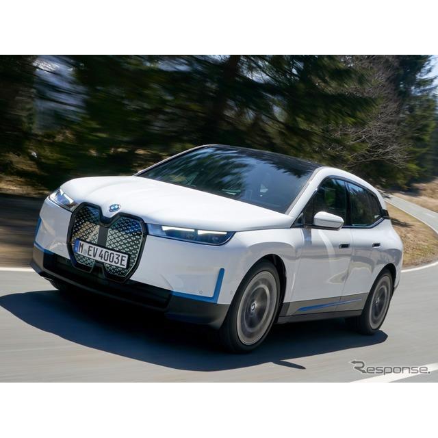 BMWグループ(BMW Group)は6月2日、新型EVのBMW『iX』を2021年11月、世界市場で発売すると発表した。  ...