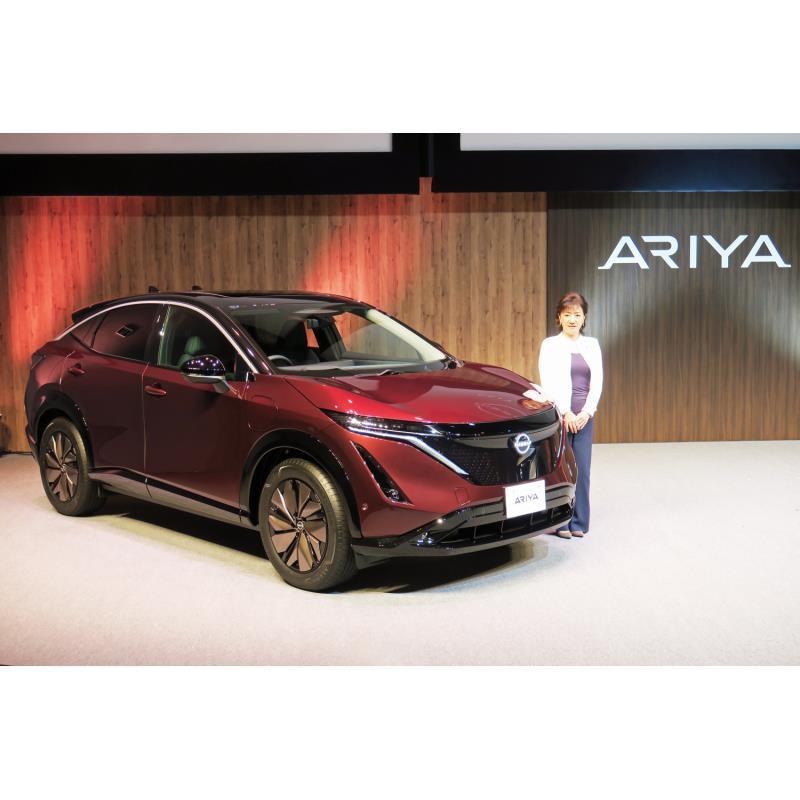 日産自動車は2021年6月4日、電気自動車(EV)「アリア」の予約注文限定モデル「アリアlimited(リミテッド...