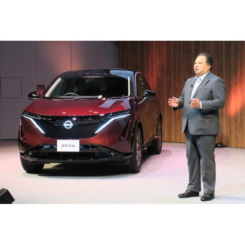 日産自動車は2021年6月4日、新型電気自動車「アリア」の予約注文受け付けの開始に伴い、同社初となるグロー...