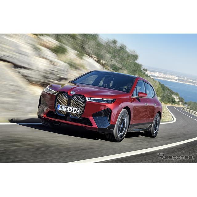 ビー・エム・ダブリュー(BMWジャパン)は6月9日、今秋正式発表となる新型電気自動車(EV)『iX』の初期生...