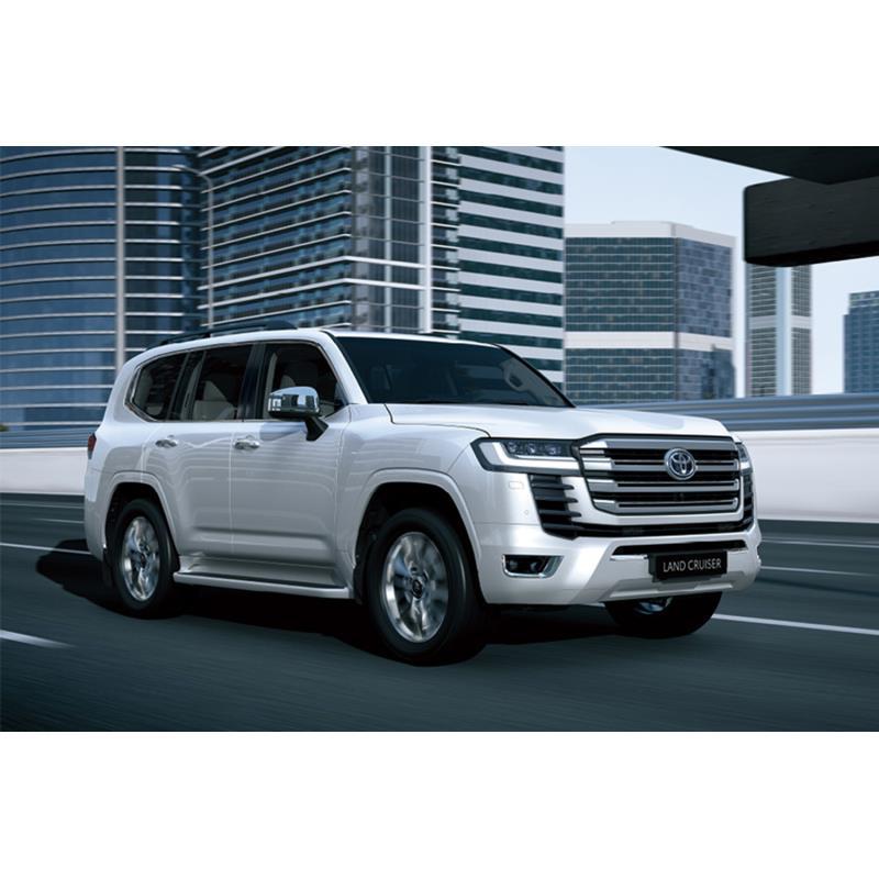 トヨタ自動車は2021年6月9日、同年夏以降にグローバルでの発売を予定している、新型「ランドクルーザー」を...