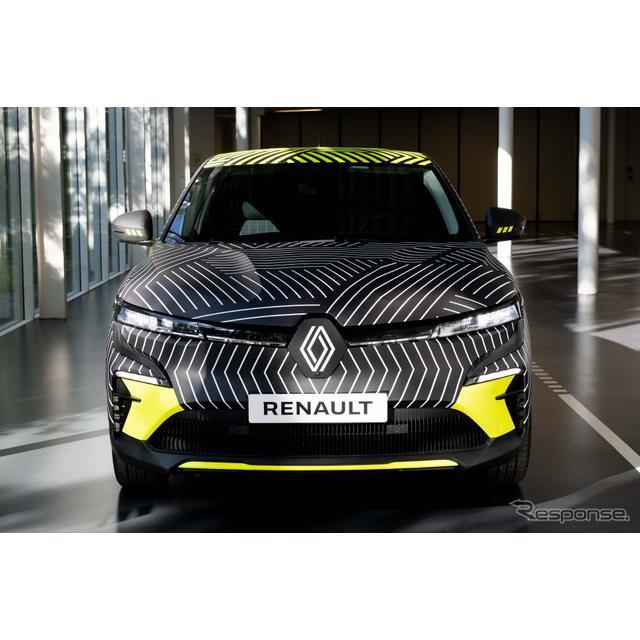 ルノーグループは6月7日、現在開発を進めているルノー『メガーヌ』(Renault Megane)のEV、『メガーヌE-TE...