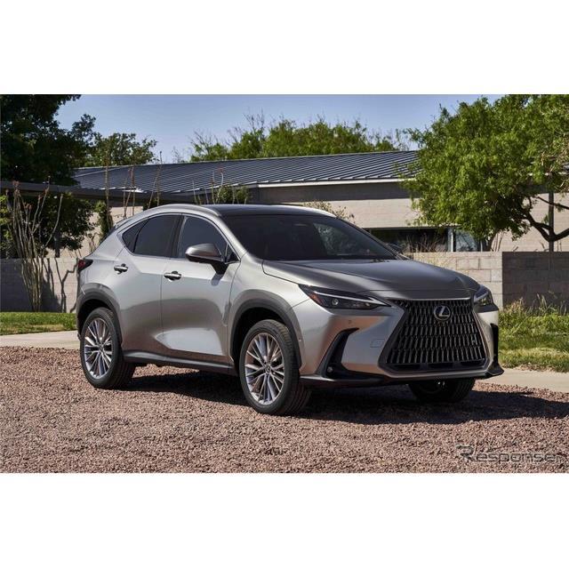 レクサスは11日、ラグジャリー・クロスオーバーSUVの『NX』をフルモデルチェンジ、2022年型として北米市場...
