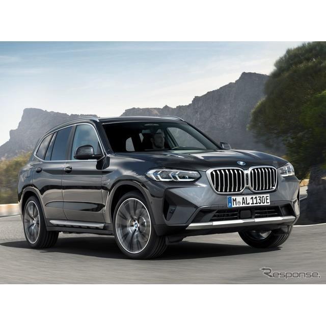 BMWは6月9日、改良新型『X3』にプラグインハイブリッド車(PHV)の「xDrive30e」グレードを設定し、今夏欧...