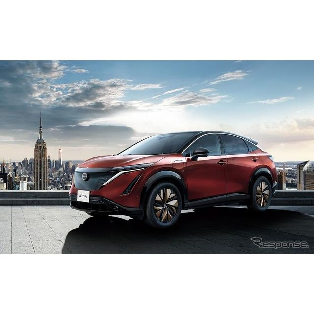 日産自動車は、6月4日に発表した新型クロスオーバーEV『アリア』の日本専用限定車「アリア リミテッド」が...