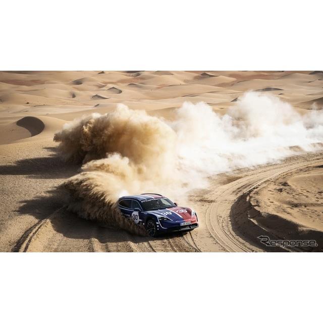 ポルシェは6月10日、EVスポーツカー『タイカン・クロスツーリスモ』(Porsche Taycan Cross Turismo)が、...