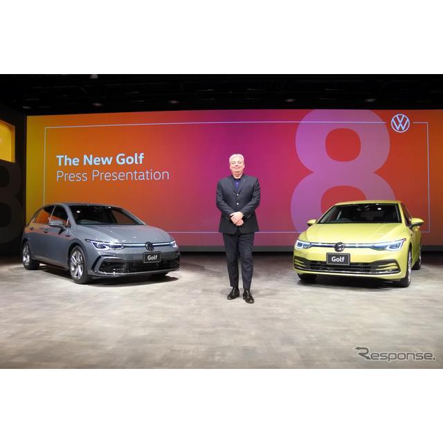 フォルクスワーゲン(VW)グループジャパンは6月15日、8年ぶりに全面改良した『ゴルフ』を発売した。日本市...