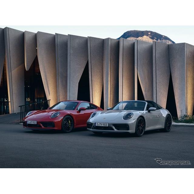ポルシェ(Porsche)は6月23日、『911』シリーズの「GTS」を欧州で発表した。「クーペ」、「カブリオレ」、...